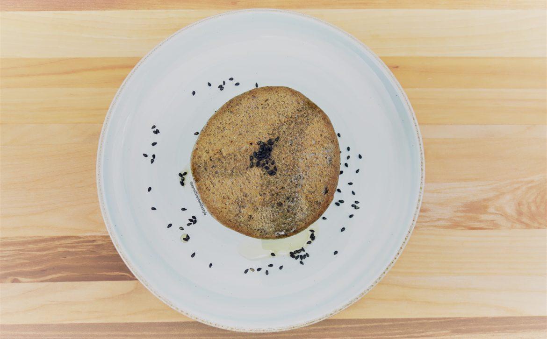 Black Sesame Pancakes (GF, V, NF)