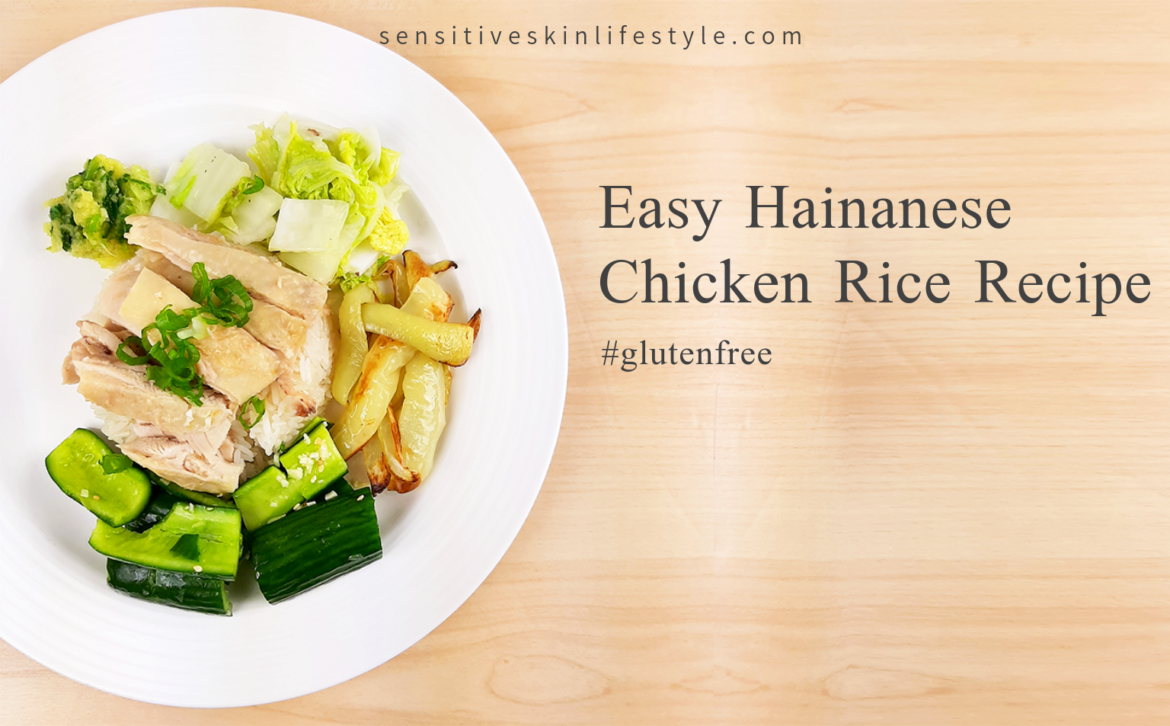 Easy Hainanese Chicken Rice (GF, NF)