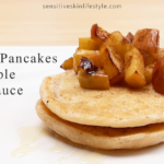 Gluten-Free Vegan Cassava Pancakes with Maple Apple Sauce Recipe