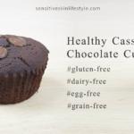 Gluten Free, Nut Free, Dairy Free, Egg Free, Cassava Flour Chocolate Cupcake Recipe