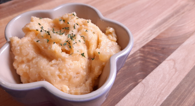 Mashed Rutabaga/Swede - a healthy alternative to mashed potatoes