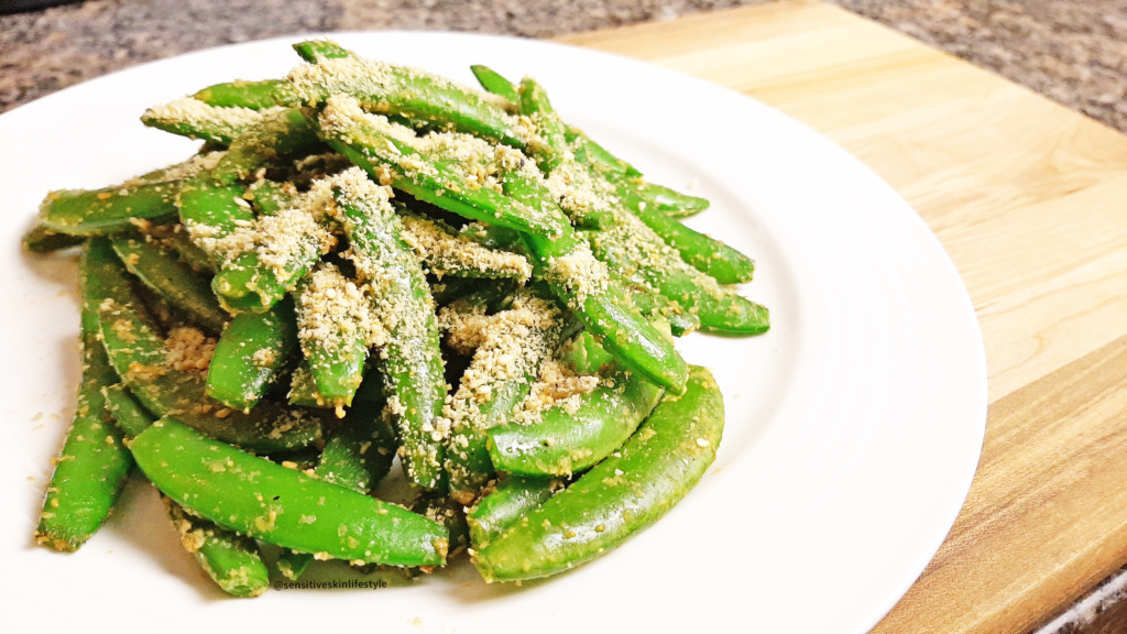 Photo of my sugar snap pea goma-ae recipe done