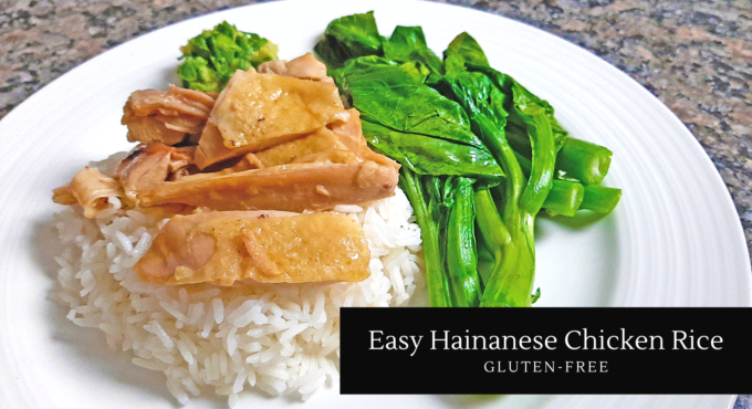 Photo of my Easy Hainanese Chicken Rice Recipe